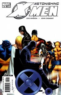 Cover Thumbnail for Astonishing X-Men (Marvel, 2004 series) #12 [Direct Edition]