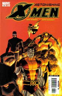 Cover Thumbnail for Astonishing X-Men (Marvel, 2004 series) #13 [Direct Edition]