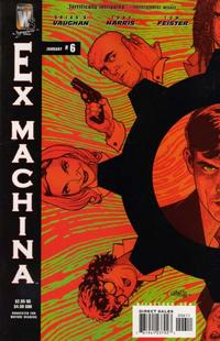 Cover Thumbnail for Ex Machina (DC, 2004 series) #6
