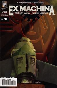 Cover Thumbnail for Ex Machina (DC, 2004 series) #10