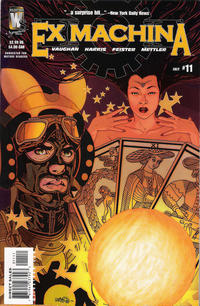Cover for Ex Machina (DC, 2004 series) #11