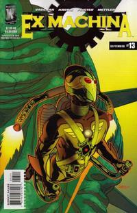 Cover for Ex Machina (DC, 2004 series) #13