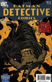 Cover Thumbnail for Detective Comics (DC, 1937 series) #807