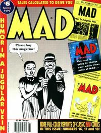 Cover Thumbnail for Tales Calculated to Drive You Mad (EC, 1997 series) #6 [Newsstand]
