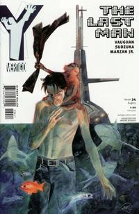 Cover Thumbnail for Y: The Last Man (DC, 2002 series) #34