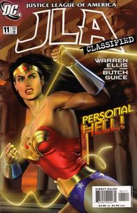 Cover Thumbnail for JLA: Classified (DC, 2005 series) #11 [Direct Sales]
