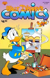 Cover Thumbnail for Walt Disney's Comics and Stories (Gemstone, 2003 series) #649