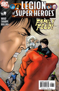 Cover Thumbnail for Legion of Super-Heroes (DC, 2005 series) #8