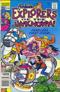Cover Thumbnail for Explorers of the Unknown (Archie, 1990 series) #1 [Newsstand]
