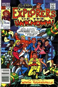 Cover Thumbnail for Explorers of the Unknown (Archie, 1990 series) #6