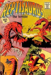 Cover Thumbnail for Reptisaurus (Charlton, 1962 series) #4