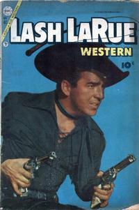 Cover Thumbnail for Lash Larue Western (Charlton, 1954 series) #47
