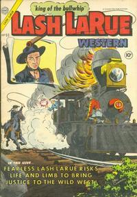 Cover Thumbnail for Lash Larue Western (Charlton, 1954 series) #53