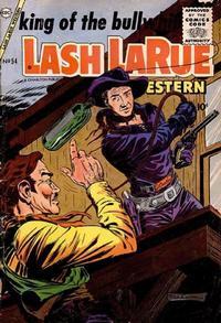 Cover Thumbnail for Lash Larue Western (Charlton, 1954 series) #54