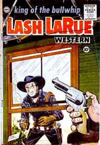 Cover Thumbnail for Lash Larue Western (Charlton, 1954 series) #55