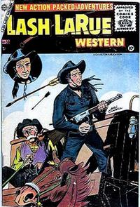 Cover Thumbnail for Lash Larue Western (Charlton, 1954 series) #58