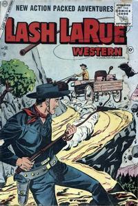 Cover Thumbnail for Lash Larue Western (Charlton, 1954 series) #59