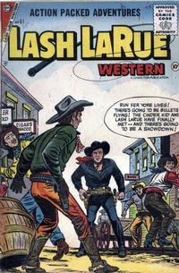 Cover Thumbnail for Lash Larue Western (Charlton, 1954 series) #61
