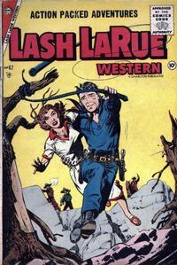 Cover Thumbnail for Lash Larue Western (Charlton, 1954 series) #62