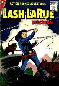 Cover Thumbnail for Lash Larue Western (Charlton, 1954 series) #63