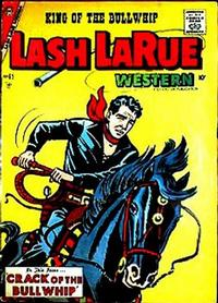 Cover Thumbnail for Lash Larue Western (Charlton, 1954 series) #65