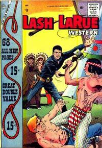 Cover Thumbnail for Lash Larue Western (Charlton, 1954 series) #68