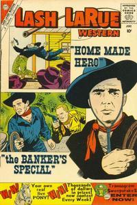 Cover Thumbnail for Lash Larue Western (Charlton, 1954 series) #78