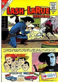 Cover Thumbnail for Lash Larue Western (Charlton, 1954 series) #80