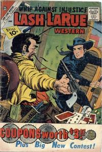 Cover Thumbnail for Lash Larue Western (Charlton, 1954 series) #84