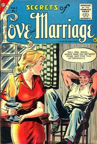 Cover Thumbnail for Secrets of Love and Marriage (Charlton, 1956 series) #1