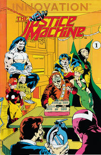 Cover Thumbnail for The New Justice Machine (Innovation, 1989 series) #1