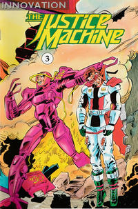 Cover Thumbnail for The Justice Machine (Innovation, 1990 series) #3