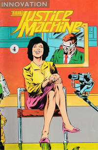 Cover Thumbnail for The Justice Machine (Innovation, 1990 series) #4