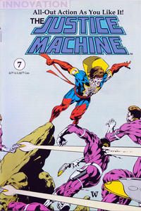 Cover Thumbnail for The Justice Machine (Innovation, 1990 series) #7