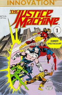 Cover Thumbnail for Justice Machine Summer Spectacular (Innovation, 1990 series) #1