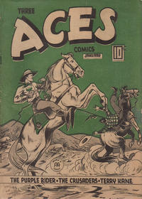 Cover Thumbnail for Three Aces Comics (Anglo-American Publishing Company Limited, 1941 series) #v3#12 [36]