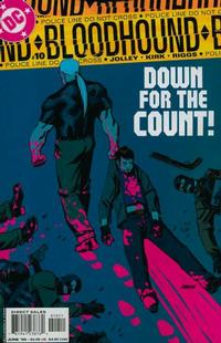 Cover Thumbnail for Bloodhound (DC, 2004 series) #10