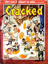 Cover Thumbnail for Cracked (Major Publications, 1958 series) #6