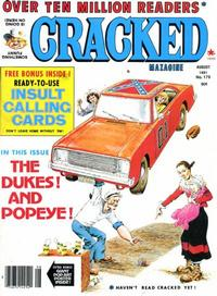 Cover Thumbnail for Cracked (Major Publications, 1958 series) #179