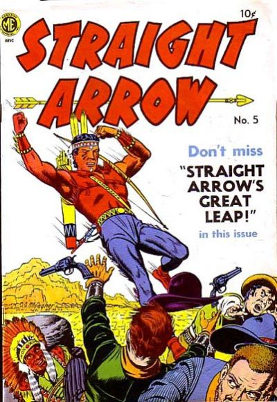 Cover for Straight Arrow (Magazine Enterprises, 1950 series) #5