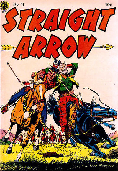 Cover for Straight Arrow (Magazine Enterprises, 1950 series) #11