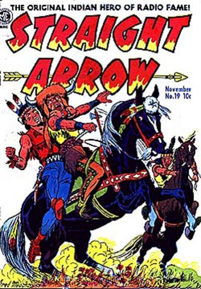 Cover for Straight Arrow (Magazine Enterprises, 1950 series) #19