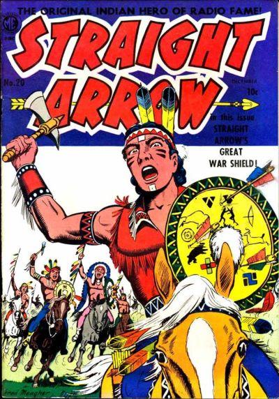 Cover for Straight Arrow (Magazine Enterprises, 1950 series) #20