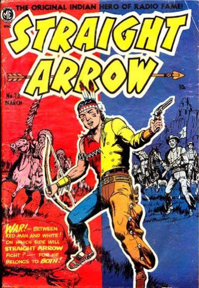 Cover for Straight Arrow (Magazine Enterprises, 1950 series) #23