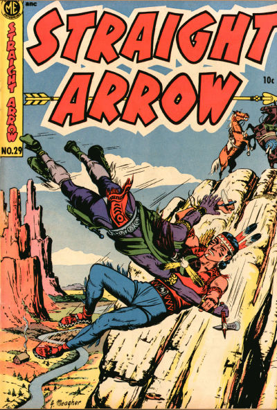 Cover for Straight Arrow (Magazine Enterprises, 1950 series) #29
