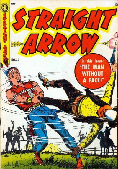 Cover for Straight Arrow (Magazine Enterprises, 1950 series) #32