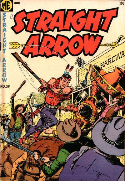 Cover for Straight Arrow (Magazine Enterprises, 1950 series) #39