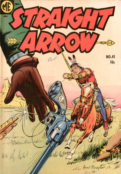 Cover for Straight Arrow (Magazine Enterprises, 1950 series) #41