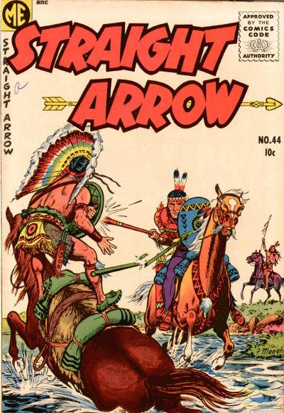 Cover for Straight Arrow (Magazine Enterprises, 1950 series) #44
