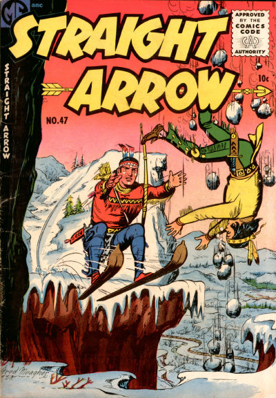 Cover for Straight Arrow (Magazine Enterprises, 1950 series) #47